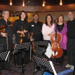 With the Romanian String Quartet in Mexico