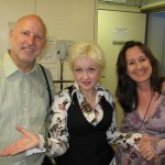 Mike Higgins and Cyndi Lauper
